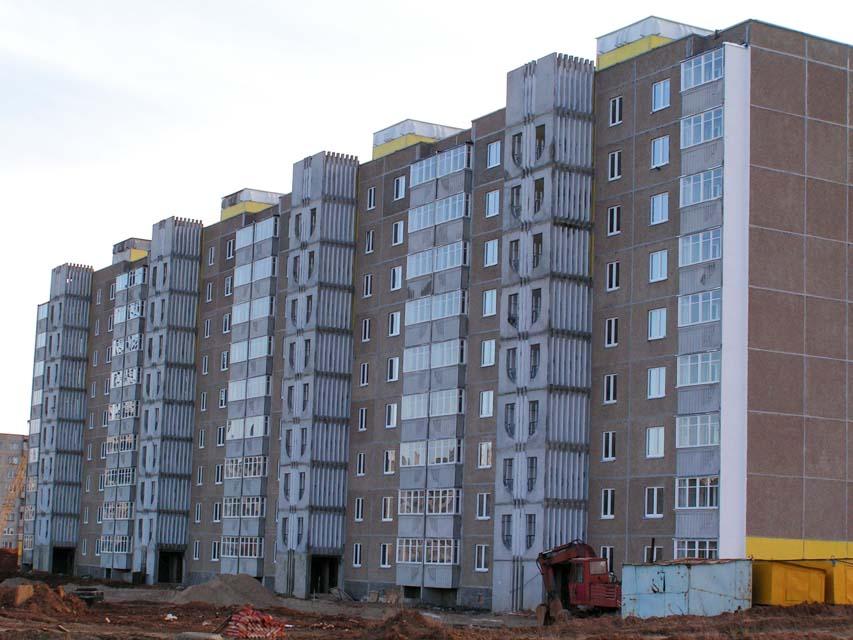 Панельные дома в Солигорске, Слуцке, Любани, Минске