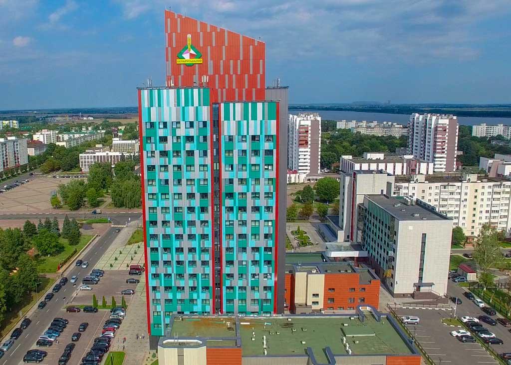 """Административное здание """"Беларуськалий"""" г. Солигорск"""